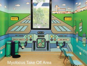 Myofocus Takeoff Area